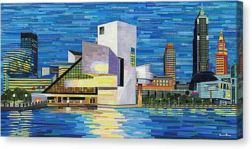 Downtown Cleveland Skyline  Canvas Print