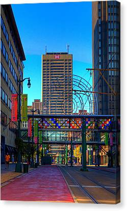 Downtown Color Canvas Print