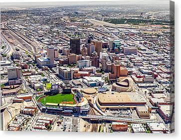 Downtown El Paso Canvas Print