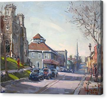 Downtown Georgetown On Canvas Print