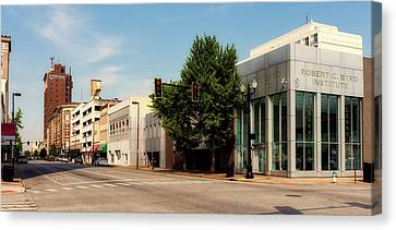 Downtown Huntington West Virginia Canvas Print by L O C