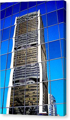Downtown Montreal Canvas Print