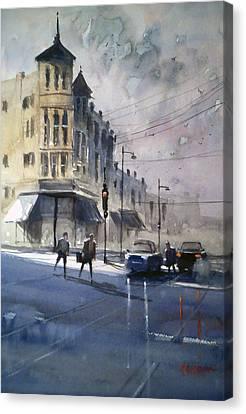 Downtown Oshkosh2 Canvas Print