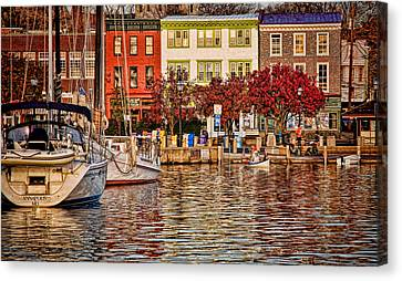 Downtown Canvas Print