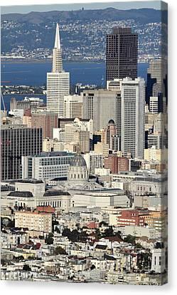 Downtown San Francisco Canvas Print by Pierre Leclerc Photography