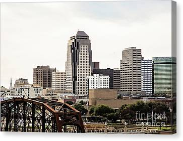 Downtown Shreveport  Canvas Print