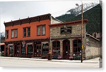 Downtown Silverton Colorado Canvas Print by Mountain Dreams