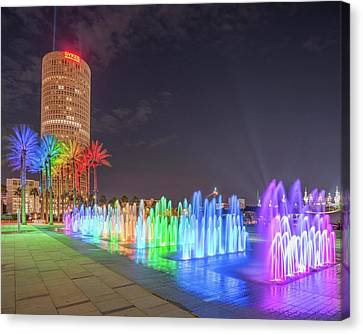 Downtown Tampa - 8x10 Canvas Print