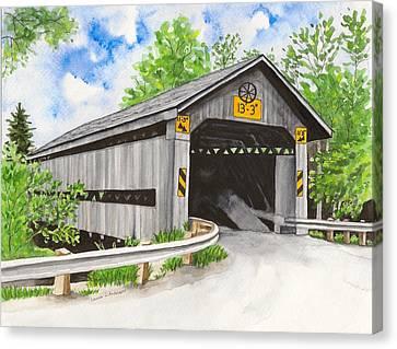 Doyle Road Bridge Canvas Print