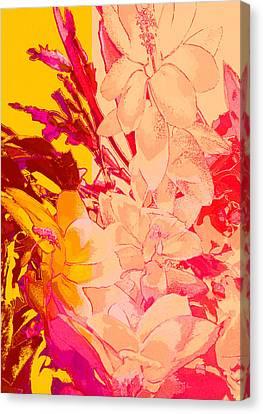 Christmas Cactus Flower #1 - Dp46  Canvas Print