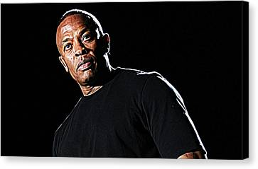 Jay Z Canvas Print - Dr. Dre by Iguanna Espinosa