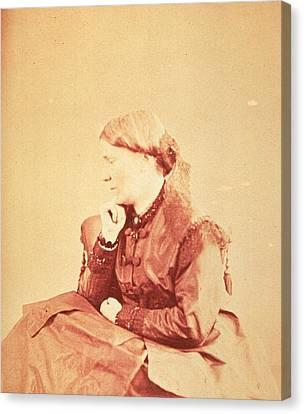 Dr. Elizabeth Blackwell 1821-1910 Canvas Print by Everett