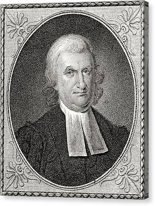 Dr John Witherspoon 1723 To 1794 Canvas Print by Vintage Design Pics
