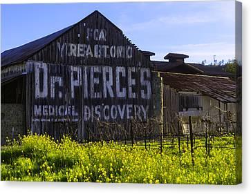 Dr Pierces Barn Canvas Print