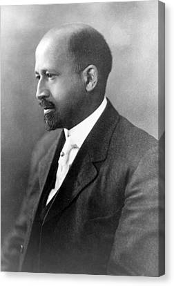 Dr. W.e.b. Du Bois, African American Canvas Print by Everett