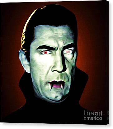Canvas Print featuring the photograph Dracula 20170414 Square by Wingsdomain Art and Photography