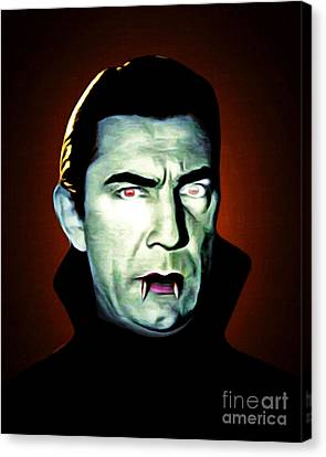 Canvas Print featuring the photograph Dracula 20170414 by Wingsdomain Art and Photography