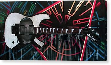 Dracula Jackson Canvas Print by Sean Parnell
