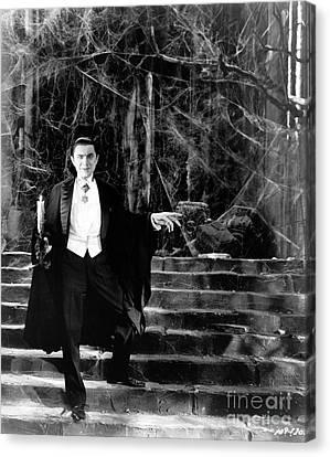 Dracula Canvas Print by R Muirhead Art