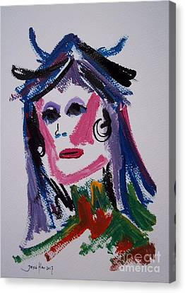 Drag Queen Canvas Print by Jose Hau