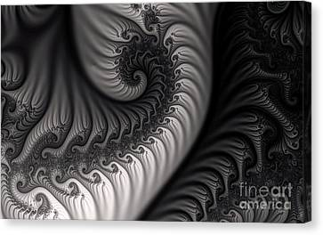 Dragon Belly Canvas Print by Clayton Bruster