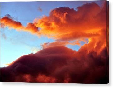 Dragon Cloud Canvas Print