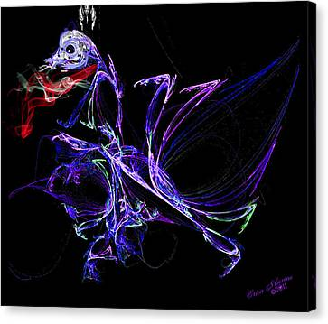 Dragon Dance Canvas Print by EricaMaxine  Price