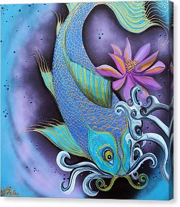 Dragon Fish Canvas Print