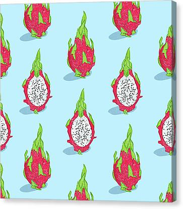 Dragon Fruit Canvas Print