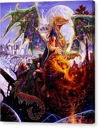 Dragon Master's Apprentice Canvas Print
