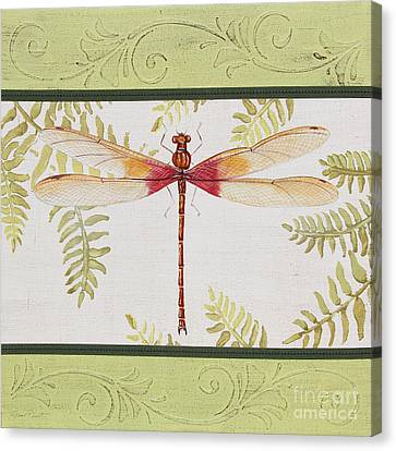Dragonfly Beauty-jp3148 Canvas Print by Jean Plout