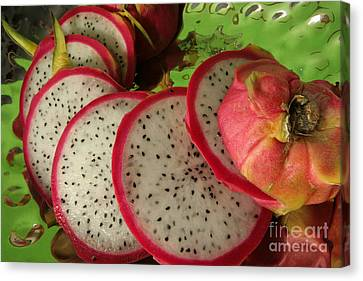 Dragonfruit  Canvas Print by Christine Amstutz