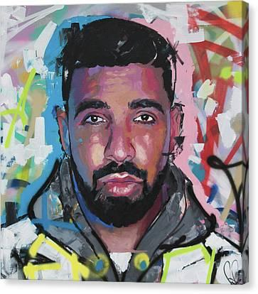 Drake Canvas Print - Drake by Richard Day