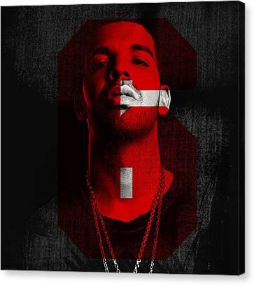 Drake Run The 6  Canvas Print by Nicholas Legault