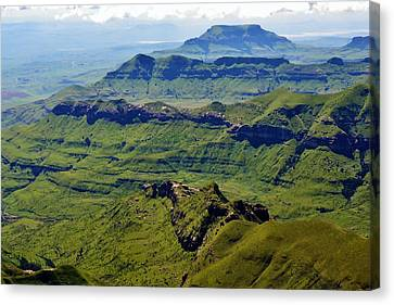 Drakensberg Mountains Canvas Print by Werner Lehmann