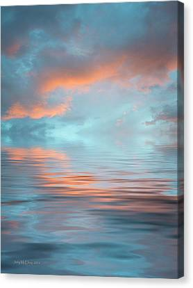 Drama Canvas Print by Jerry McElroy