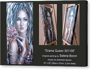 Drama Queen 301109 Canvas Print by Selena Boron