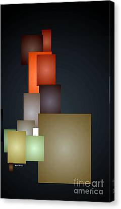 Dramatic Abstract Canvas Print by Rafael Salazar
