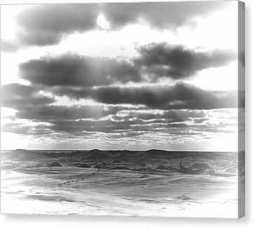 Dramatic Beachscape Canvas Print by Dan Sproul