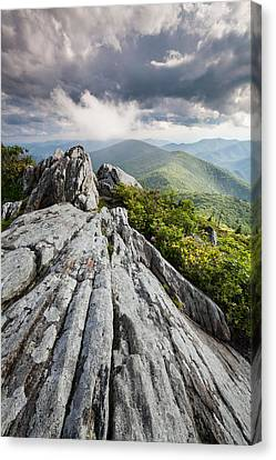 Dramatic Blue Ridge Mountain Scenic Canvas Print