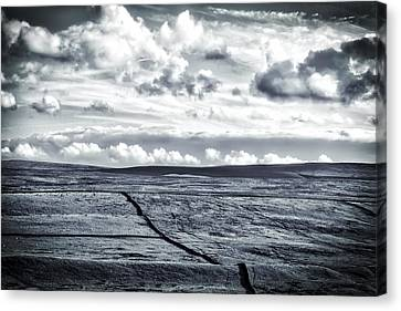 Canvas Print featuring the photograph Dramatic Landscape  by RKAB Works
