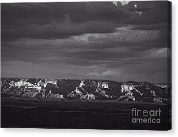 Canvas Print featuring the photograph Dramatic Late Afternoon Light by Ron Chilston