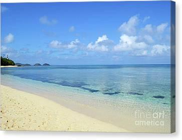 Dravuni Island Of Fiji Canvas Print