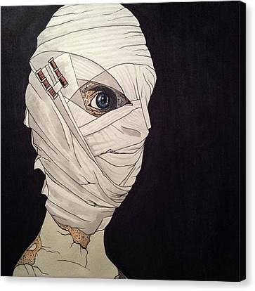 Canvas Print - Mummy Monday by Russell Boyle