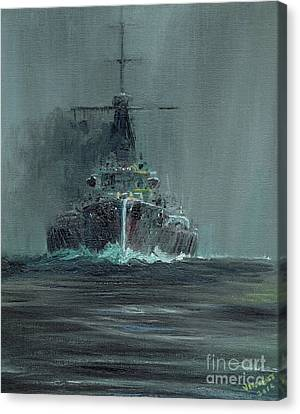 Dreadnought 1907 Canvas Print
