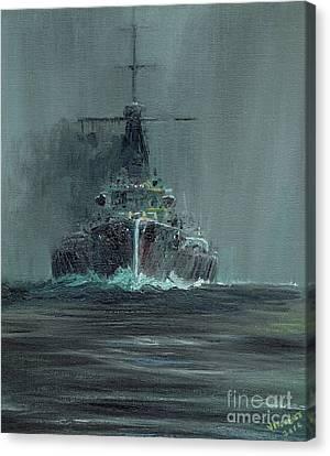 Dreadnought 1907 Canvas Print