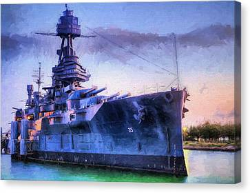 Dreadnought Canvas Print by JC Findley