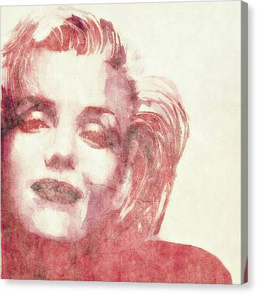 Monroe Canvas Print - Dream A Little Dream Of Me by Paul Lovering