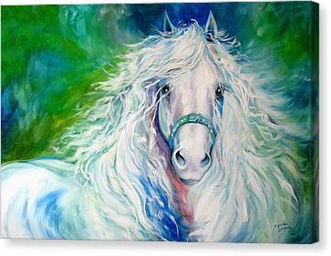 Dream Andalusian Canvas Print by Marcia Baldwin