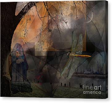 Dream Bearers Canvas Print by Mimulux patricia no No
